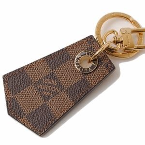 Louis Vuitton Key Holder Damier Ebene Brown